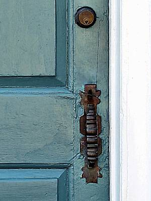 Photograph - Blue Door by Janice Drew