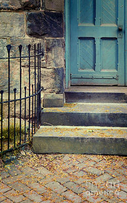 Photograph - Blue Door by Jill Battaglia
