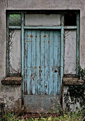 Digital Art - Blue Door by Julie Williams