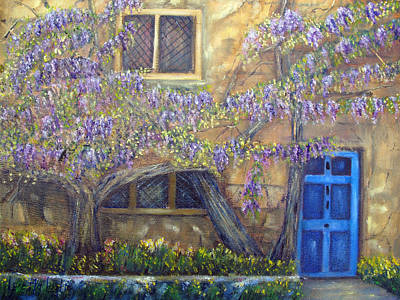 Painting - Blue Door by Loretta Luglio