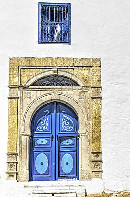 Sidi Bou Said Photograph - Blue Door by Maria Coulson