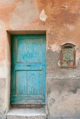 Photograph - Blue Door by Michael Blanchette