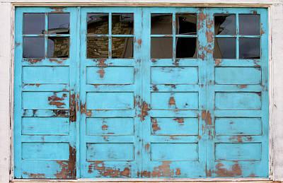 Photograph - Blue Door by Tony Grider