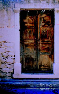 Photograph - Blue Door Way by Diane montana Jansson