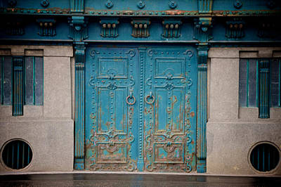 Photograph - Blue Doors by Catherine Murton