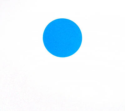 Painting - Blue Dot by Scott Shaver