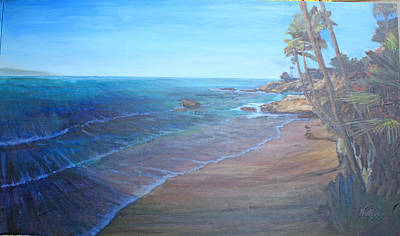 Heisler Park Painting - Blue Dream North by Ruthie Briggs-Greenberg