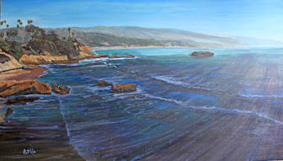 Heisler Park Painting - Blue Dream South by Ruthie Briggs-Greenberg