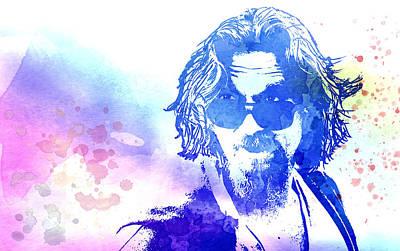 Jeff Digital Art - Blue Dude by Daniel Hagerman