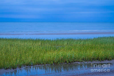 Photograph - Blue Dusk At First Encounter Beach by Susan Cole Kelly