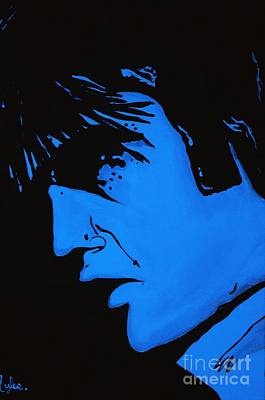 Painting - Blue Elvis by Saundra Myles