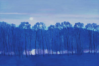 Painting - Blue Enchantment Il by J Reifsnyder