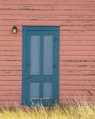 Photograph - Blue Entrance Door by Juli Scalzi