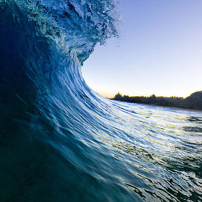 North Shore Photograph - Blue Envelope  -  Part 1 Of 3 by Sean Davey