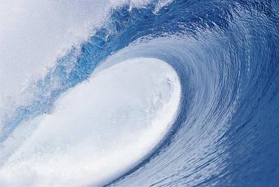 Ocean Energy Photograph - Blue Eye by Sean Davey