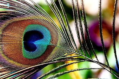 Art Print featuring the photograph Blue Eye by Steve Godleski