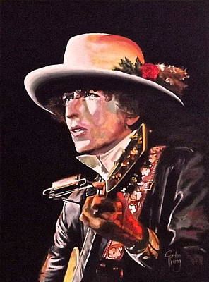 Bob Dylan Painting - Blue Eyed Son by Gordon Irving