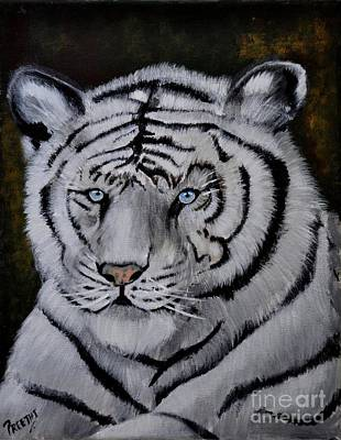 Painting - Wild Eyes by Preethi Mathialagan