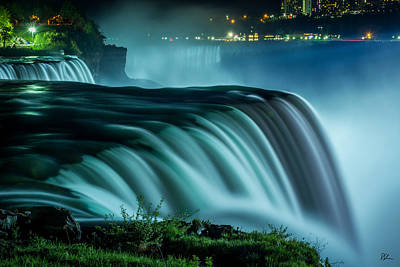 Photograph - Blue Fall by Pat Scanlon