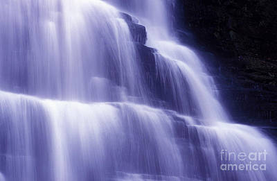 Photograph - Blue Falls by Paul W Faust -  Impressions of Light