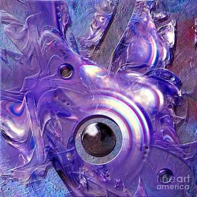 Digital Art - Blue Fantasy by Alexa Szlavics