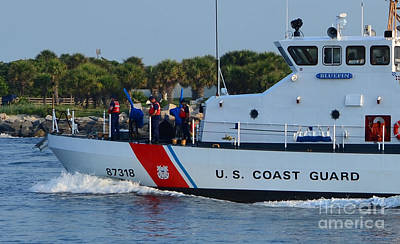 Photograph - U. S. Coast Guard Blue Fin  by Bob Sample