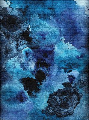 Painting - Blue Focus by Debi Hammond