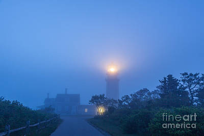 Photograph - Blue Fog by Susan Cole Kelly