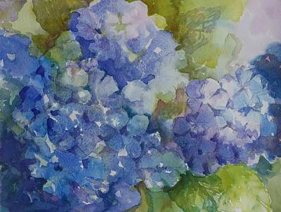 Painting - Blue For You by Tara Moorman