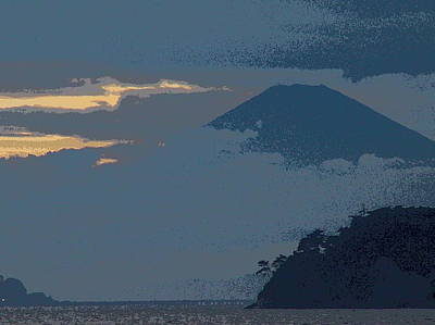 Photograph - Blue Fuji by Larry Knipfing