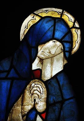 Wall Art - Photograph - Blue Glass Prayer by Mark Sullivan