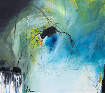 Blue-green II Original by Ira Ivanova