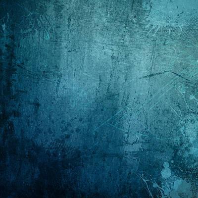Blue Grunge Background Original