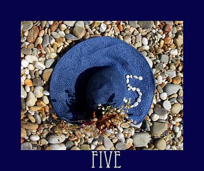 Photograph - Blue Hat - Still Life by Daliana Pacuraru