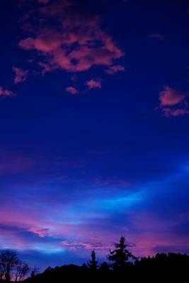 Blue Heaven  Print by Kevin Bone
