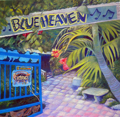 Blue Heaven New View Art Print