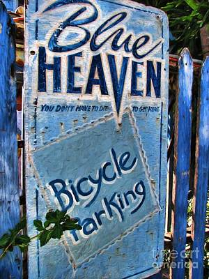 Photograph - Blue Heaven by Peggy Hughes