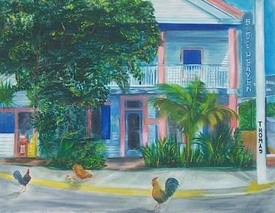 Blue Heaven Wake Up Call  Art Print