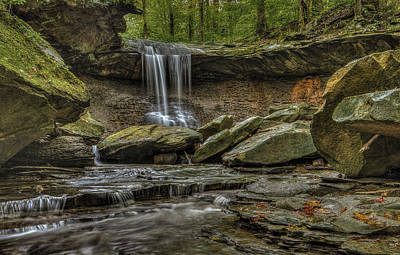 Photograph - Blue Hen Falls by Torrey McNeal