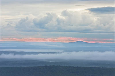 Photograph - Blue Hill From Cadillac Mountain Acadia National Park by Keith Webber Jr