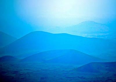 Photograph - Blue Hills To Mauna Kea by Lehua Pekelo-Stearns
