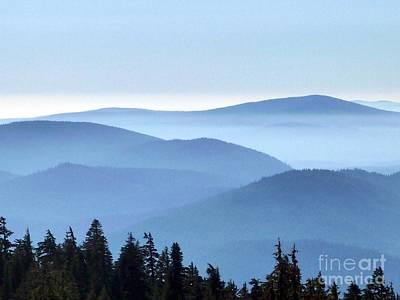 Photograph - Blue Hills Valley by Susan Garren