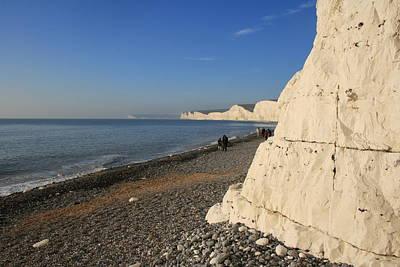 Dover Downs Photograph - blue Horizon by David Valentyne