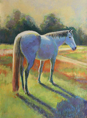 Painting - Blue Horse by Carol Jo Smidt