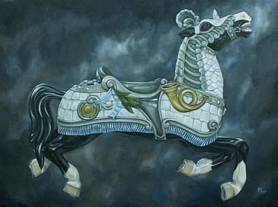 Blue Horse Original by C Cz
