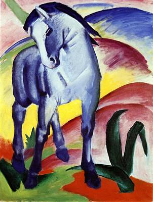 Painting - Blue Horse by Franz Marc