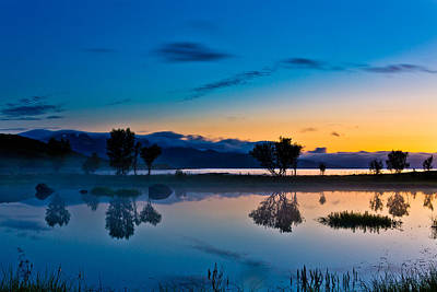 Norway Photograph - Blue Hour by Frank Olsen