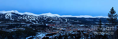 Blue Hour In Breckenridge Art Print by Ronda Kimbrow