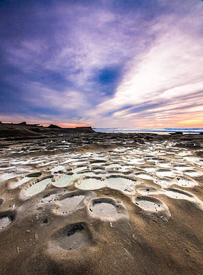 Photograph - Blue Hour In La Jolla by Robert  Aycock