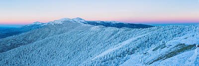 Nh Photograph - Blue Hour In The Land Of Snow And Ice by Jeff Sinon
